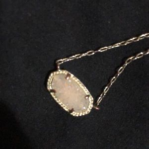 White Kendra Scott necklace